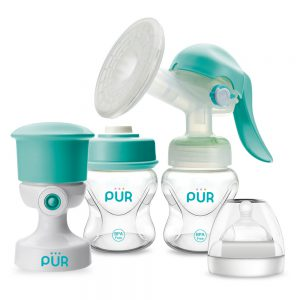 Milksafe Breast Pump with Vacuum Pump set