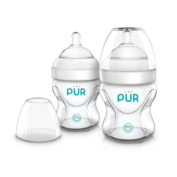 Advanced Plus Wide Neck Bottle 5 oz./150 ml.-2pk