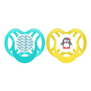 Symmetric Silicone Soother 6 mths+